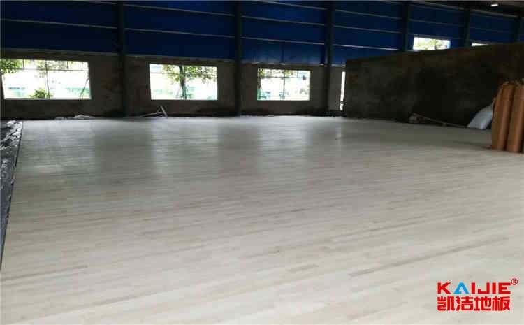 西安专用运动木地板施工方案