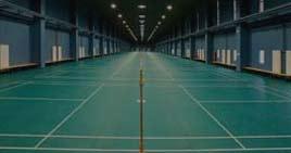 羽毛球运动场馆