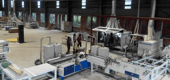 运动木地板生产线