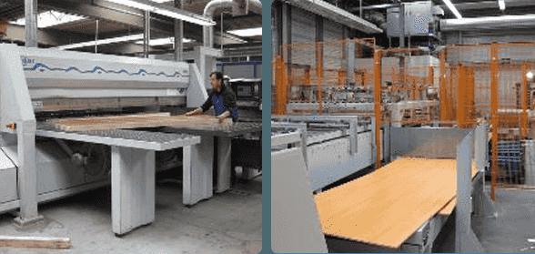 运动木地板工厂生产线