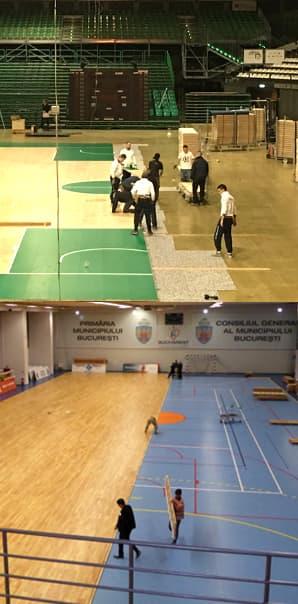 运动木地板施工团队