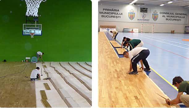 凯洁运动木地板品牌
