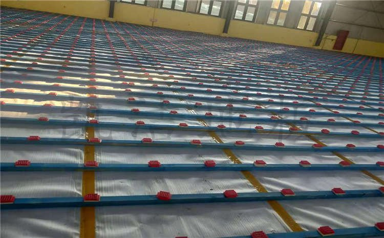 安徽桐城高速管理处篮球馆木地板案例图片