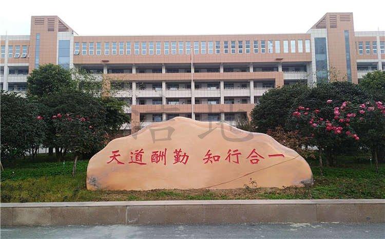 河南南阳市中学体育馆木地板案例图片
