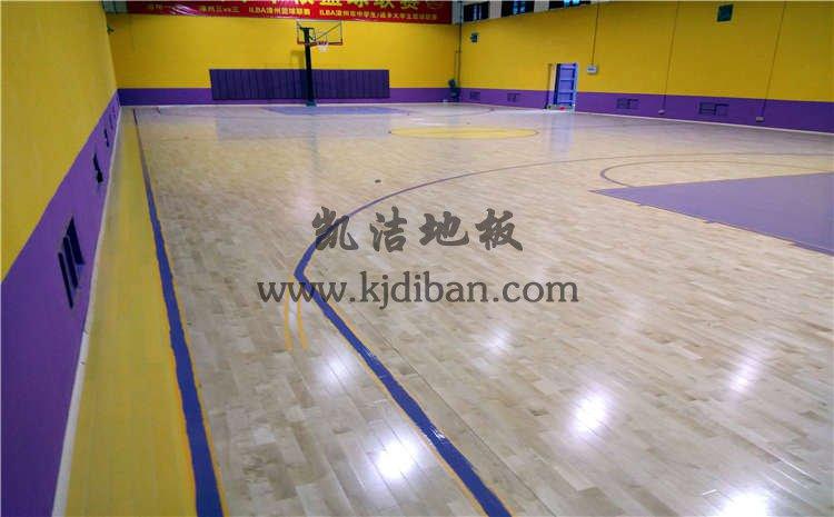 福建漳州SG高新球馆木地板项目