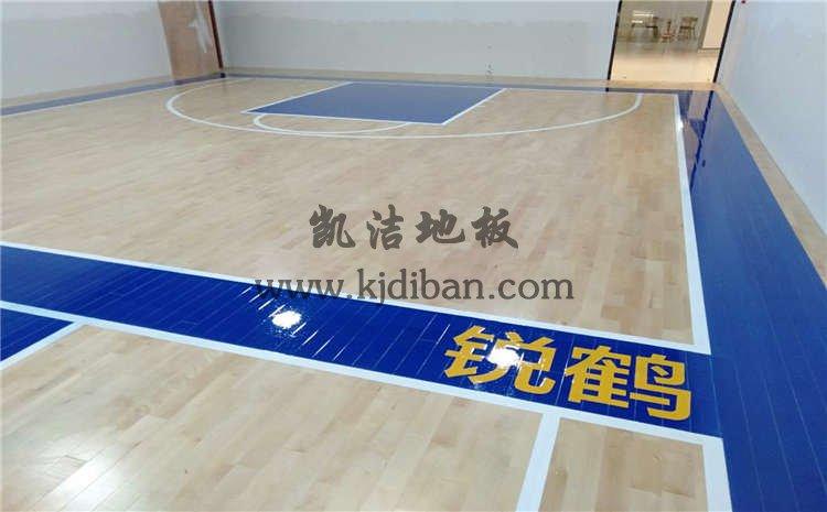 江苏盐城锐鹤青少年篮球俱乐部木地板项目