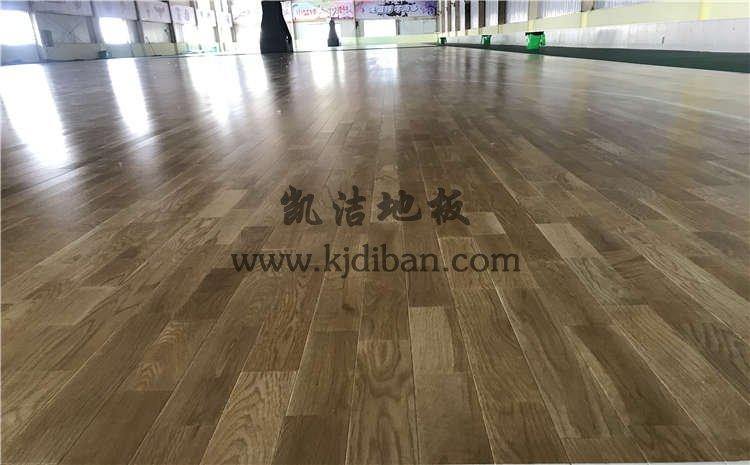 山东菏泽篮之翼篮球俱乐部木地板
