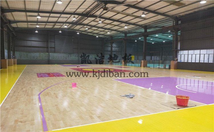 泉州L.A篮球公园篮球馆木地板