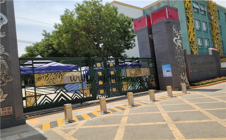 北京回龙观育新学校篮球馆木地板