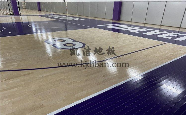 杭州曼巴篮球中心木地板项目