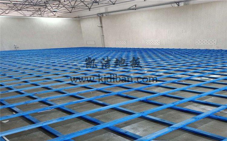 山西运城财经学校羽毛球馆木地板项目
