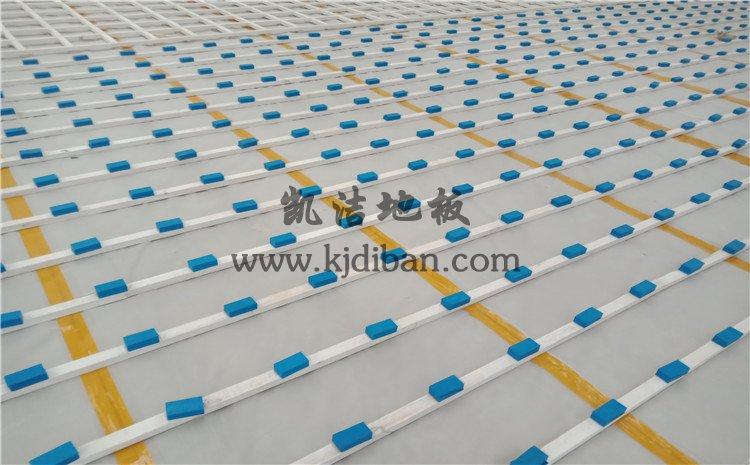 山东邹城第一中学孟子湖校区体育馆木地板