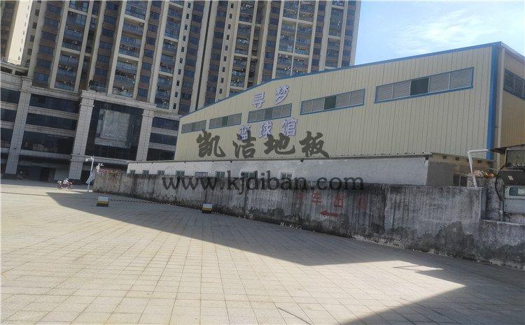 广东江门开平市寻梦篮球馆运动木地板