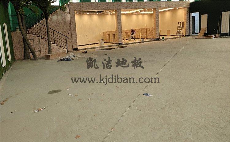 北京宏伟顺通羽毛球馆木地板案例