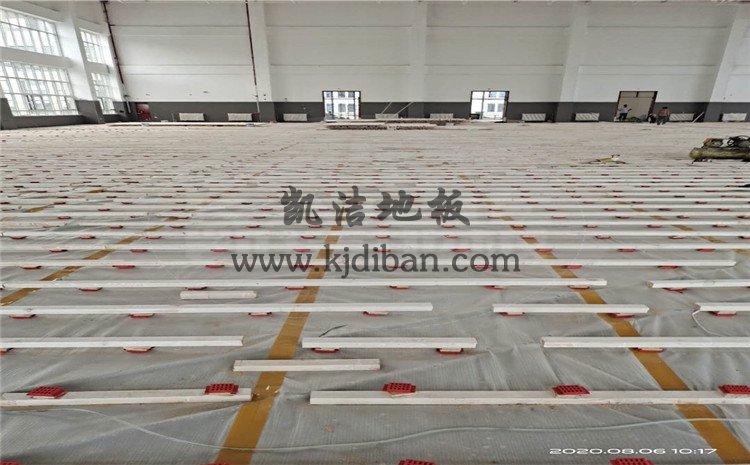 徐州黄集机场体育馆木地板项目