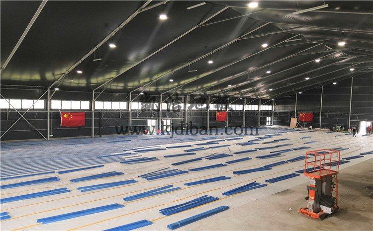 北京东五环常营体育馆木地板项目-凯实木运动地板厂家