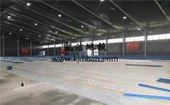 北京东五环常营体育馆木地板项目