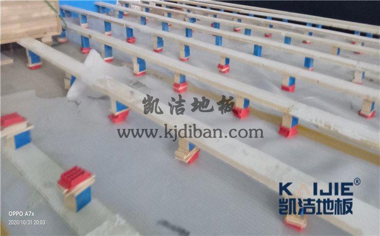 北京市海淀区铁盟物流篮球馆和羽毛球馆木地板